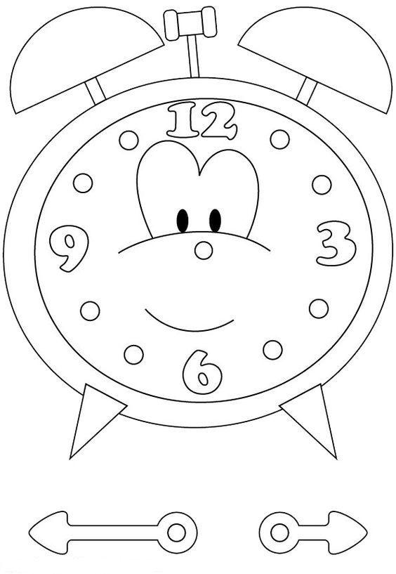 #okulöncesi#saatboyama#saat#saatler#saatetkinliği#saatleriöğreniyorum#clockpreschool#kesyapıştır#