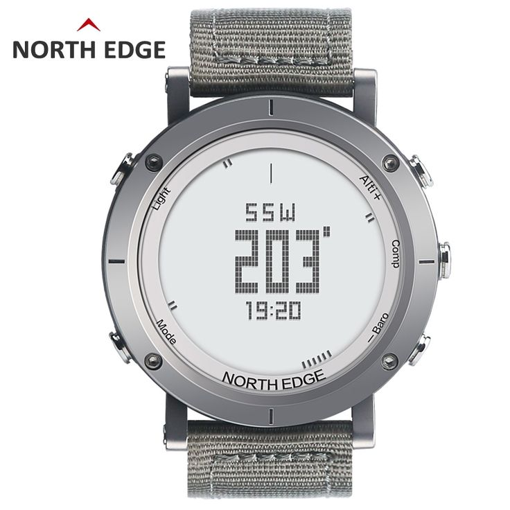 84.88$  Watch now - http://ali19x.worldwells.pw/go.php?t=32704325136 - NORTH EDGE Men's Sport Digital Watch Hours Running Swimming Watches Altimeter Barometer Compass Thermometer Weather Pedometer 84.88$