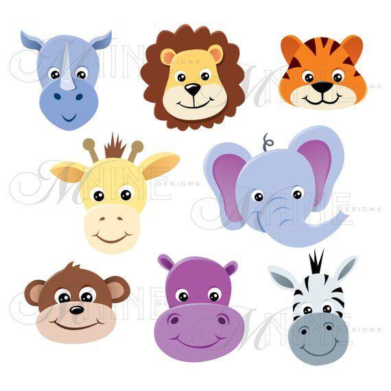 45+ Clipart Zoo Animals Cute Free