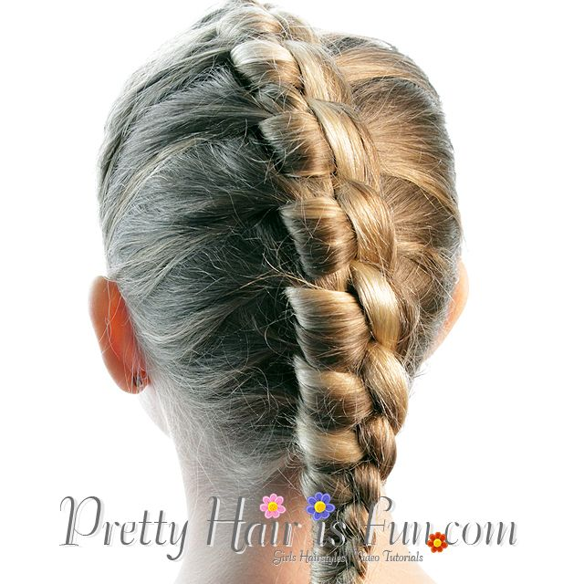 Pretty Hair is Fun: French Style Chinese Staircase Braid ...