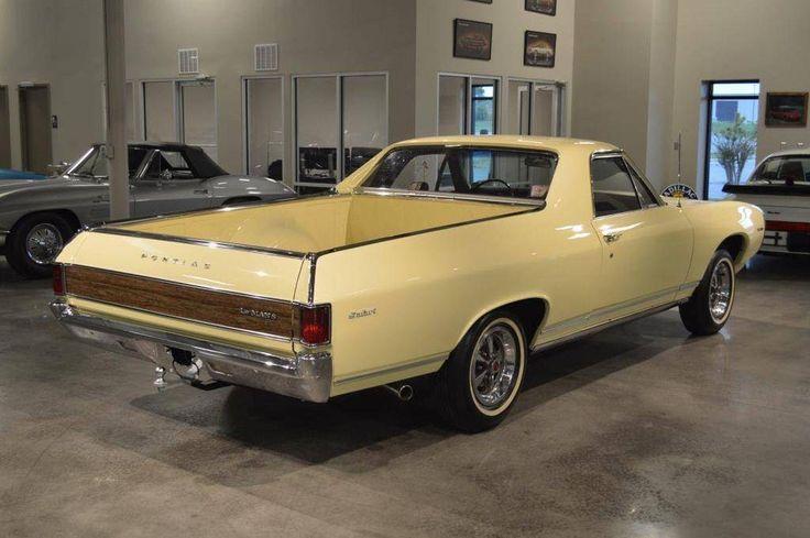 Custom, Chevy El Camino derived, 1968 Pontiac LeMans pickup