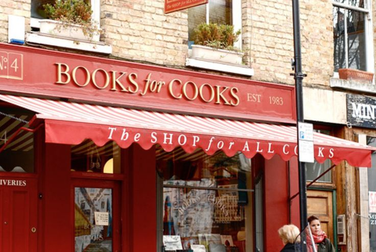 If you need inspiration cross over to browse in Books for Cooks in Blenheim Crescent (there's even a cafe in the back of the shop).