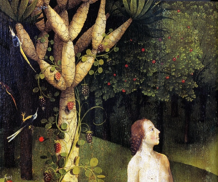 Hieronymus Bosch, Garden of earthly delights detail