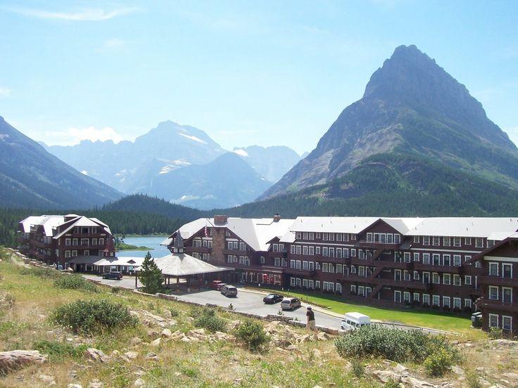 Many Glacier Hotel Historic District in Glacier County, Montana.