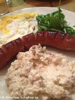 Recept: LCHF -Tonfiskröra med ägg och bacon