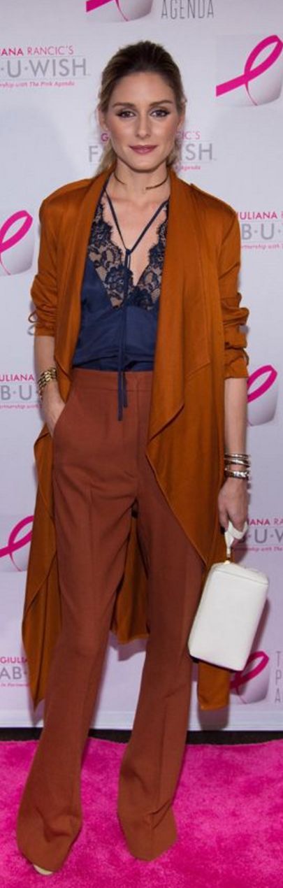 Olivia Palermo: Coat – Zara Pants – Max & Co. Necklace – The2Bandits
