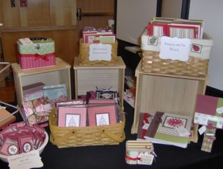 "craft show ideas from ""The Stamp Doc"""