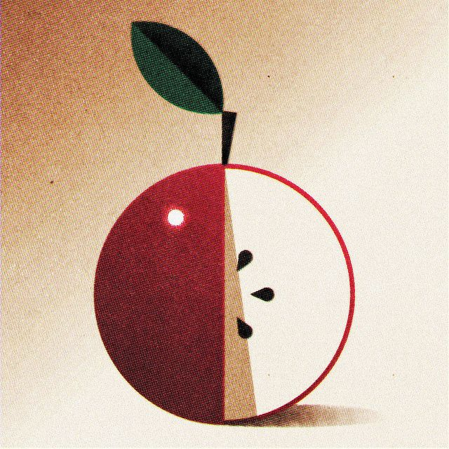 Still Life with Apple by oneedo