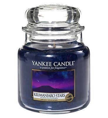 Yankee Candle Kilimanjaro Stars Medium Jar Candle | Hilary Rhodes on WeShop