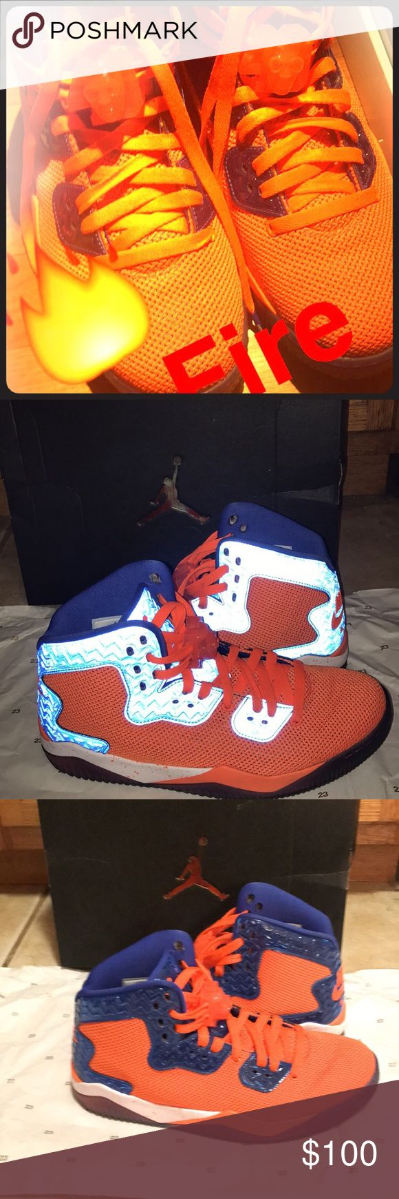 Nike Men's Air Jordan Spike Forty Wore them only a couple times. In good condition Air Jordan Shoes Sneakers