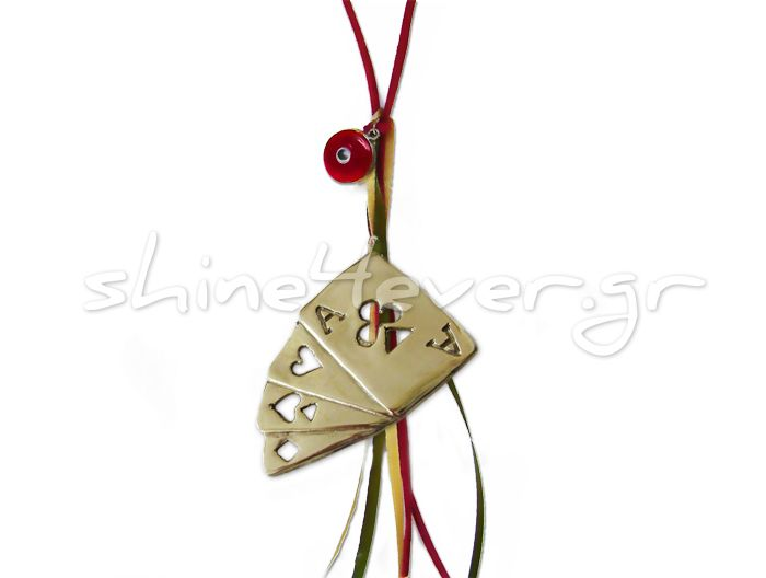 "Playing cards, ""coated"" in gold!!! A ""shiny"" ornament for your christmas tree and a sparkling touch for your home!!"