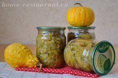 Салат из зеленых помидор на зиму «Изумрудный» (без стерилизации)