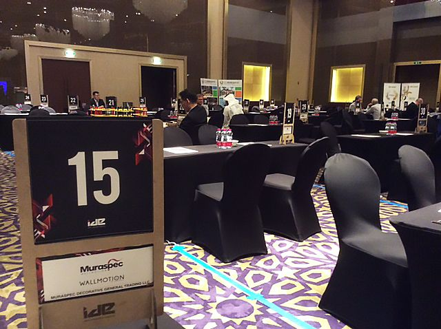 It's a lovely new day at the Hotelier Summit in Doha today!