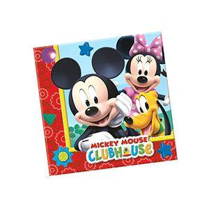 Playful Mickey Desenli Peçete, doğum günü masa süsleme