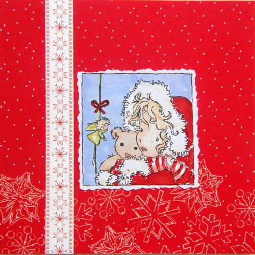Hiipii viisi tonttua tähtitaivaan alla. Loistaa kaksi kynttilää tuvan akkunalla. Joulukuusi koristeltu,äiti puuron keittää. Lunta sataa hiljalleen,voi kauas huolet heittää. Joulun pienet kulkuset n...