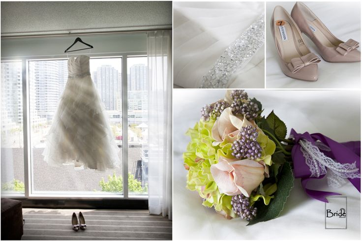 Love these beautiful details from a lovely Toronto Seaside Wedding