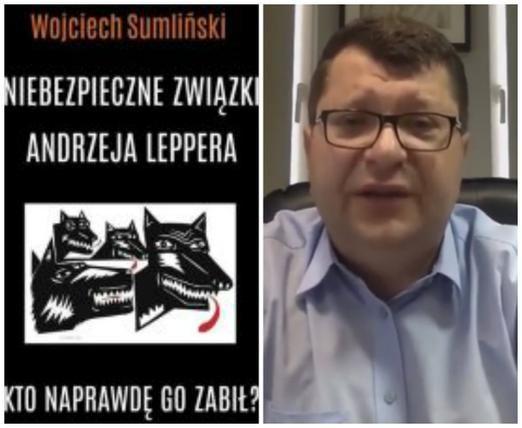 """""""Stonoga to bandzior i kryminalista"""" – mówi W. Sumliński"""