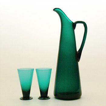 SV jug and glasses, Nanny Still (Riihimäen, 1950) | Collectors Weekly