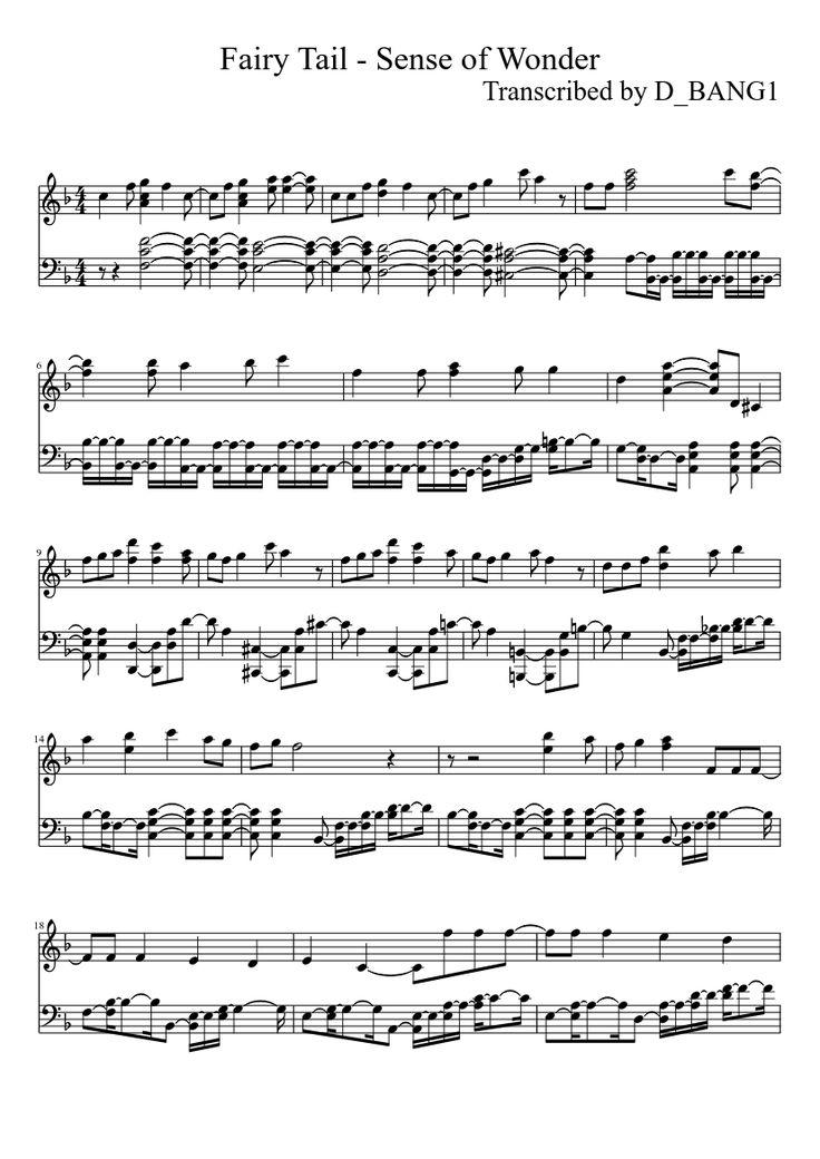 Fairy Tail - Sense of Wonder (OP2)