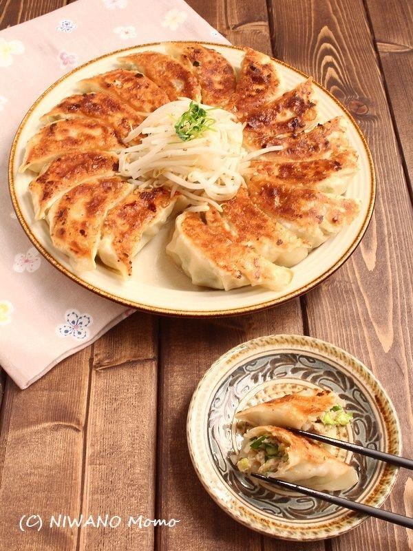 海老と豆腐のにら入り焼き餃子 by 庭乃桃 | レシピサイト「Nadia ...