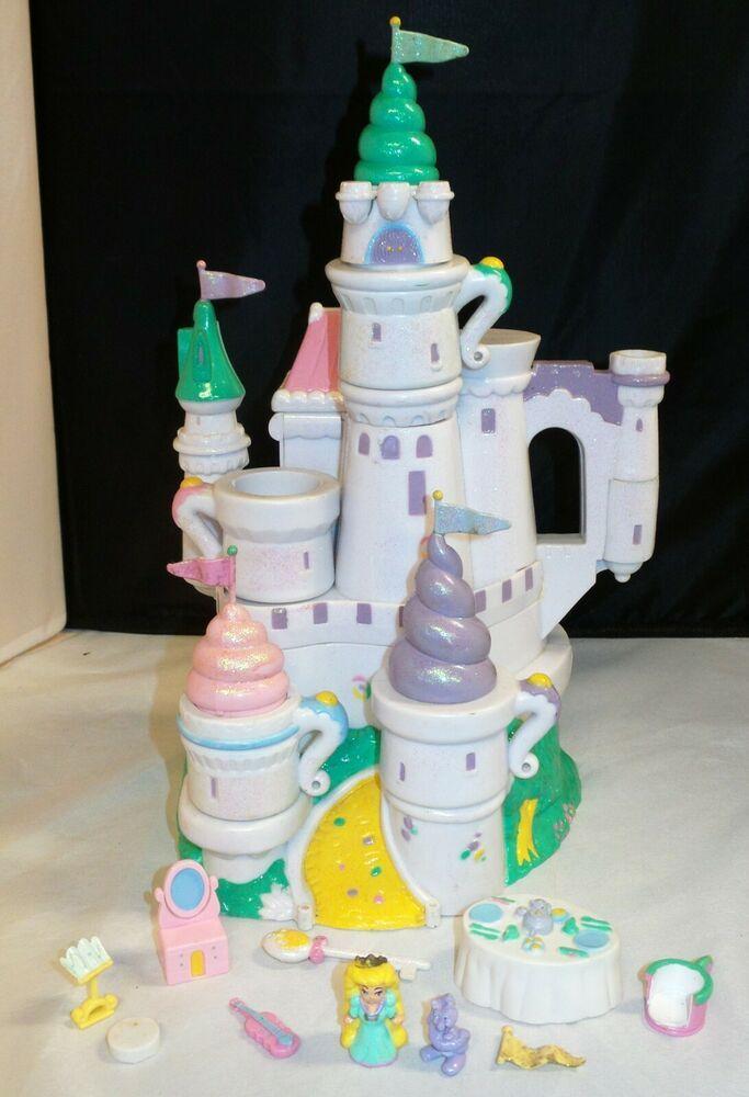 Vintage 1995 Trendmaster Starcastle White Tea Party Castle w