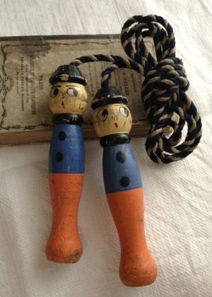 Vintage French Jumprope. Too cute!