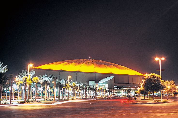 Tropicana Field, St. Petersburg, FL...home of the Tampa Bay Rays baseball team.