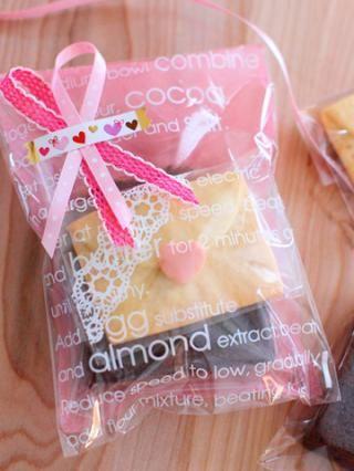 「焼き菓子の袋詰め」Miraさんの3分間ラッピング | お菓子・パンのレシピや作り方【corecle*コレクル】