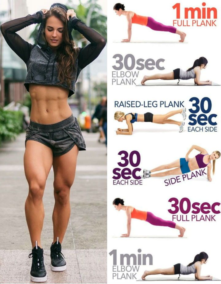 If You Want to Slim Your Waist And Sculpt A Strong Defined Core These Are the 6 Best Side Plank Variations