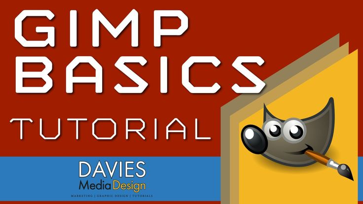 how to use gimp for beginners lesson 1