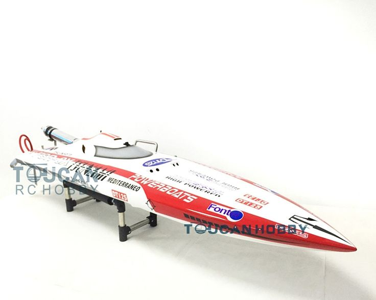 """319.00$  Watch now - http://alicef.worldwells.pw/go.php?t=32793907853 - """"49"""""""" Deep Vee Fiber Glass Gas RC Boat KIT DT125 Pre-painted Bare Hull Only 70Km/h Monohull RC Boat """" 319.00$"""