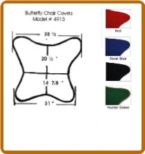 Wonderful Replacement Covers For SOLID FRAME   Cotton For Butterfly Chair  ALGOMA    #4915 (