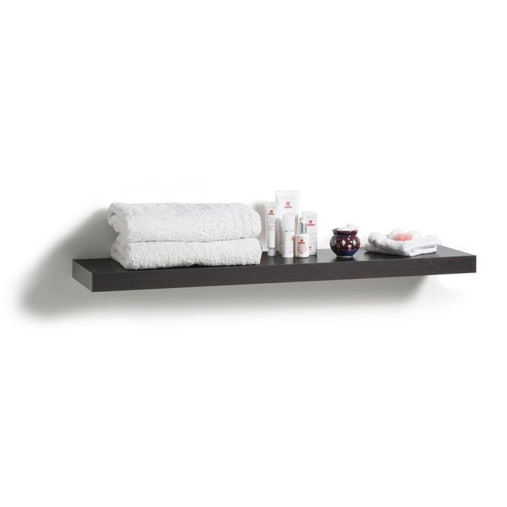 Handy Shelf Floating Shelf 900 x 240 x 38mm Black Oak
