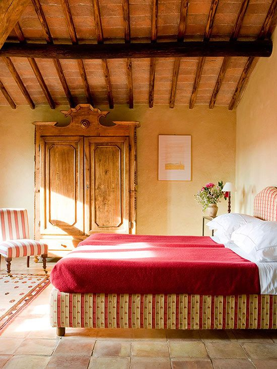 Tuscan Decor   Dreamy Bedrooms   Tuscan style bedrooms, Tuscan ...