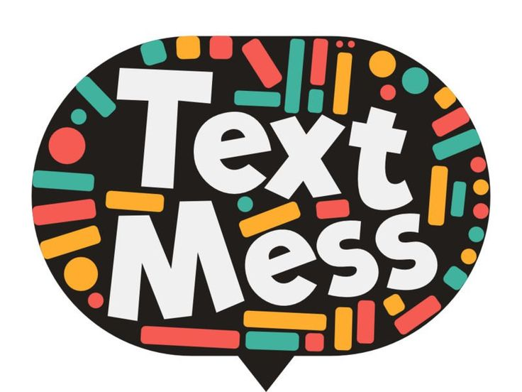 Text Mess iMessage App Icon