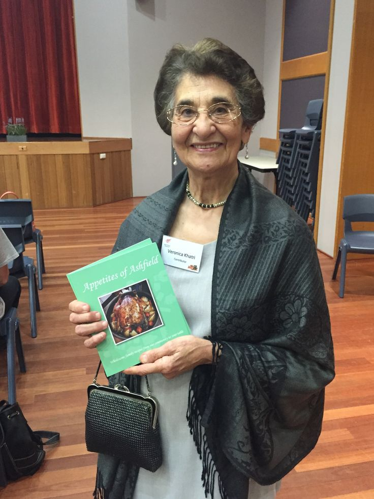 On Thursday 15 October 2015 Ashfield Library launched their community cookbook, Appetites of Ashfield.