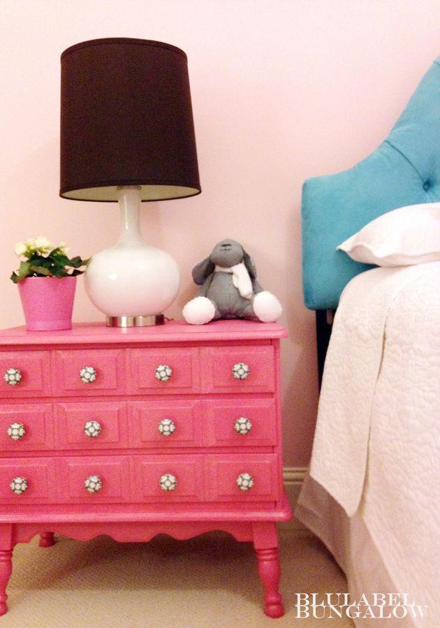 Ivana's big girl bedroom designed by Erika Ward of BluLabel Bungalow