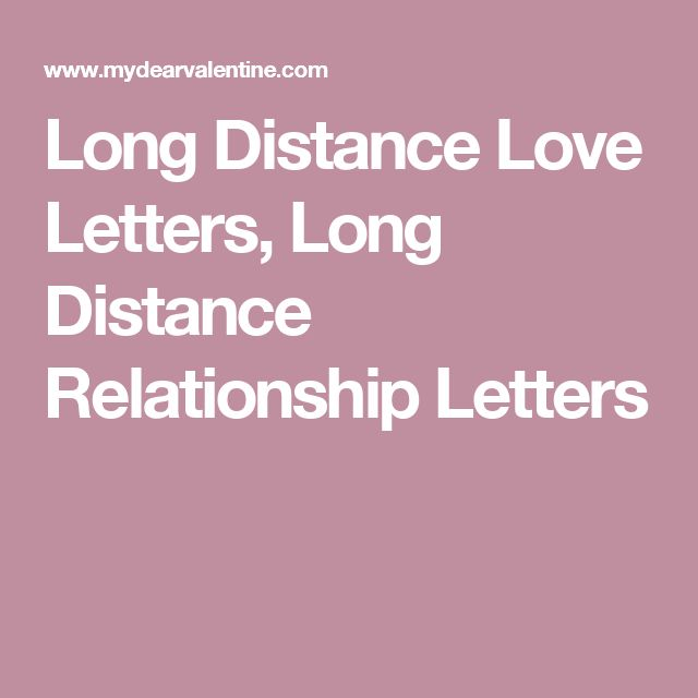 sample dating love letters long distance relationship