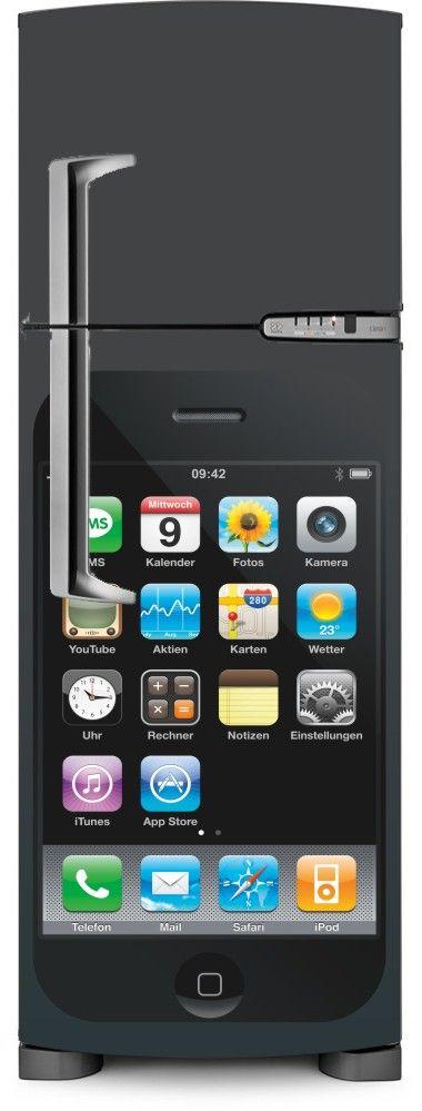 Envelopamento de Geladeira Iphone - ENV0035