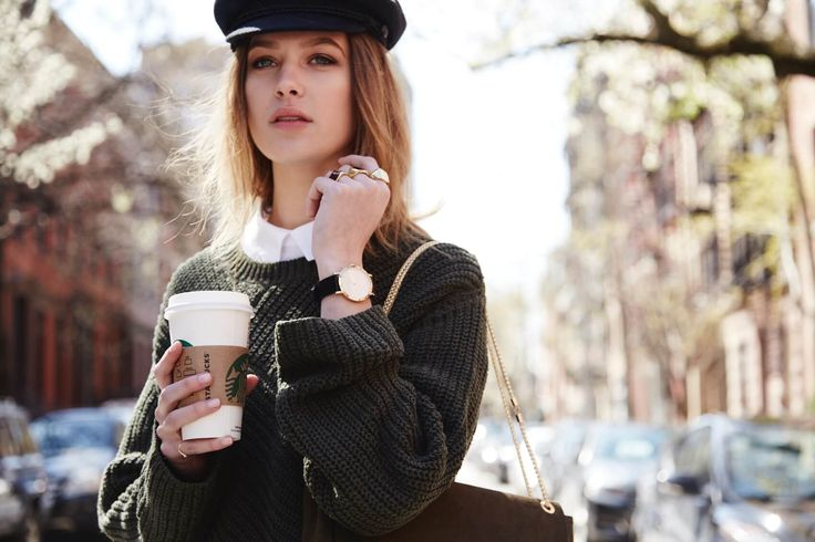 'First thing's first. I'm in dire need of a caffeine fix…' - New York with Ally