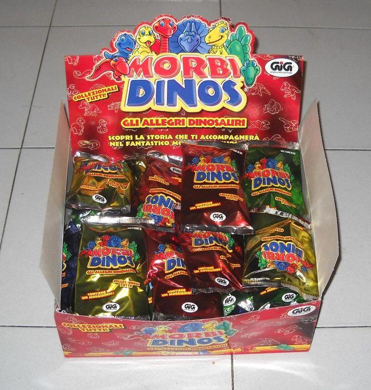 47 MORBI DINOS Nuovi in BOX Gli allegri dinosauri GIG MorbiDinos 1991 Dinosaurs