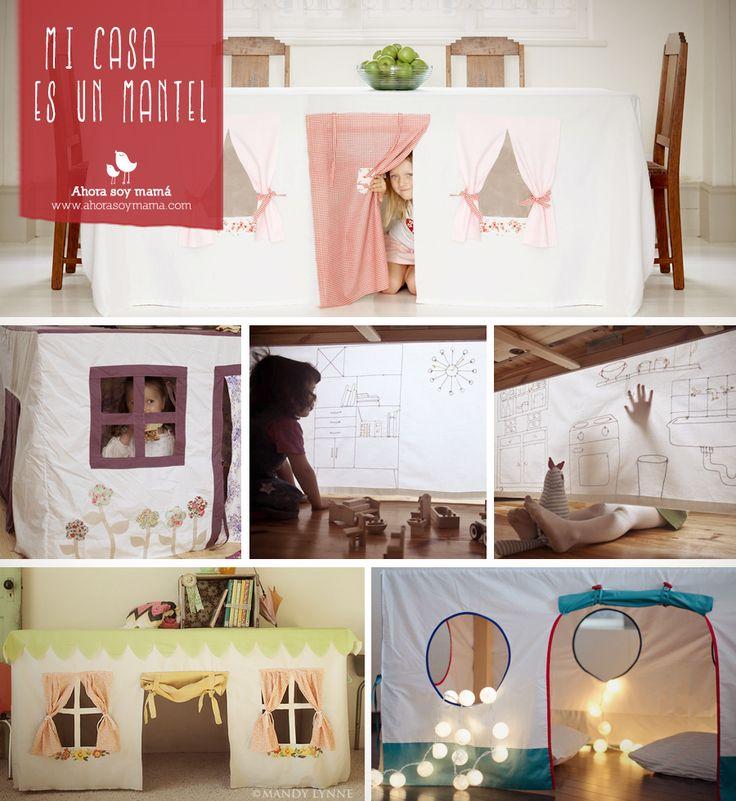 Mi casa es un mantel. Link al artículo http://ahorasoymama.com/mi-casa-es-un-mantel/