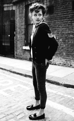 Black and White fashion rock vintage 1950s 50s uk Britain American rock n roll 1955 teddy boy teddy girl teddygirl