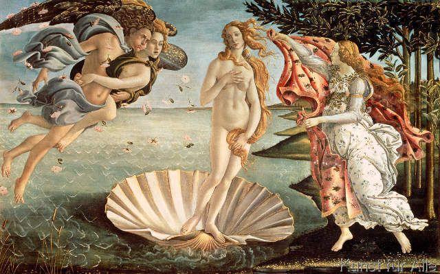 Sandro Botticelli - The Birth of Venus, c.1485