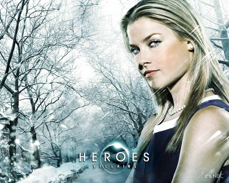 Loved Ali Larter in Heroes and the Resident Evil movies