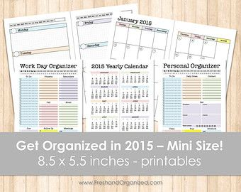 68 best organizing printables images on pinterest