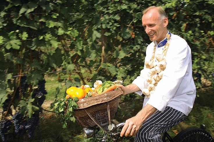 Alessandro Sampò - Chef e titolare della Locanda L'EREMO DELLA GASPRINA di LA MORRA (Fraz. Santa Maria)