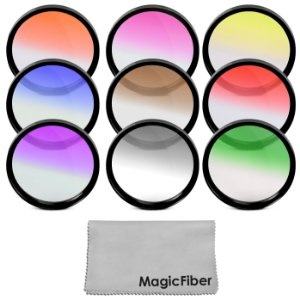 Complete Graduated 58MM Lens Color Filter Kit for CANON Rebel (T3i T3 T2 T2i T1i XT XTi XSi XS), CANON EOS (1100D 600D 550D 500D 450D 400D 350D 300D 60D 7D) - Includes: Graduated Red, Orange, Yellow, Blue, Coffee, Purple, Green, Gray (Neutral Density) and Pink Filters + MagicFiber Microfiber Lens Cleaning Cloth: http://www.amazon.com/gp/product/B005MSNFUM/ref=as_li_ss_tl?ie=UTF8=1789=390957=B005MSNFUM=as2=clooffresam-20