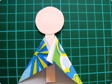 Παραδοσιακή Ιαπωνική Κούκλα από Χαρτί | Φτιάξτο μόνος σου - Κατασκευές DIY - Do it yourself