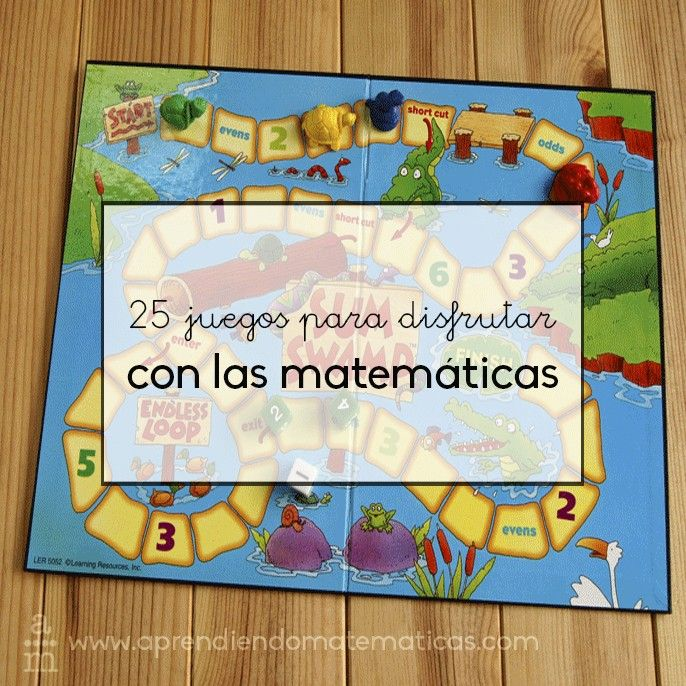 25 juegos para disfrutar y aprender matemáticas en verano es mi selección de…